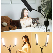 Buy Photography Studio Makeup LED Fill Light Dimmable Video Beauty Light with Tripod S288 directly from merchant!