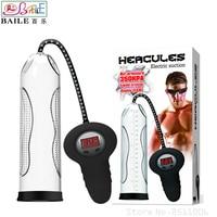 BAILE Automatic Hercules Electric Penis Pump,Vacuum Pump Penis Enlargement Male Enhancement Cock Pump Sex Products