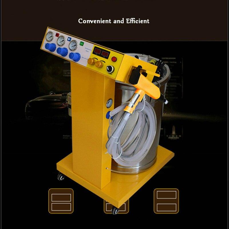 Распылитель орудийный порох машина для инъекций пластиковый порошковый распылитель машина для нанесения порошка - 3