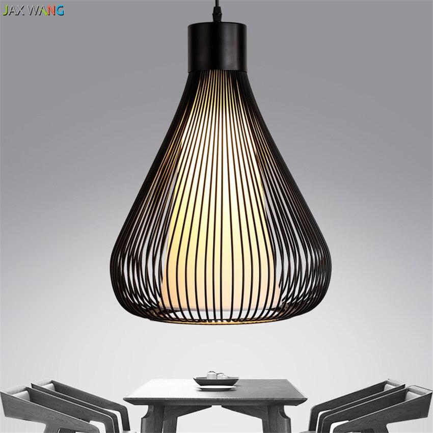 JaxModern Kreative Quadrat Anhnger Lampe Wohnzimmer Esszimmer Bar Loft Von Quartet Schlafzimmer Balkon Schwarz Schmiedeeisen Ku