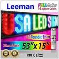 Leeman из светодиодов движущихся связь, Из светодиодов движущихся знак, Из светодиодов текст перемещение на нескольких линии прокрутки из светодиодов знаки программируется