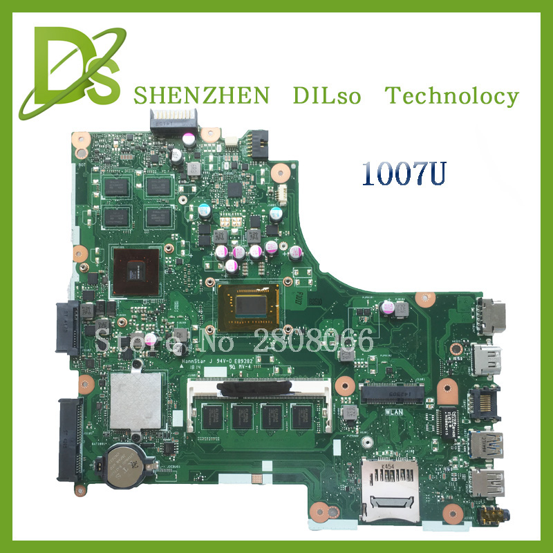 For ASUS X450CC Laptop Motherboard 1007U 2G video memory X450CC motherboard 4G RAM rev2.3 Test for asus x450cc laptop motherboard i3 3217u 2g video memory x450cc motherboard 4g ram rev2 3 100% tested