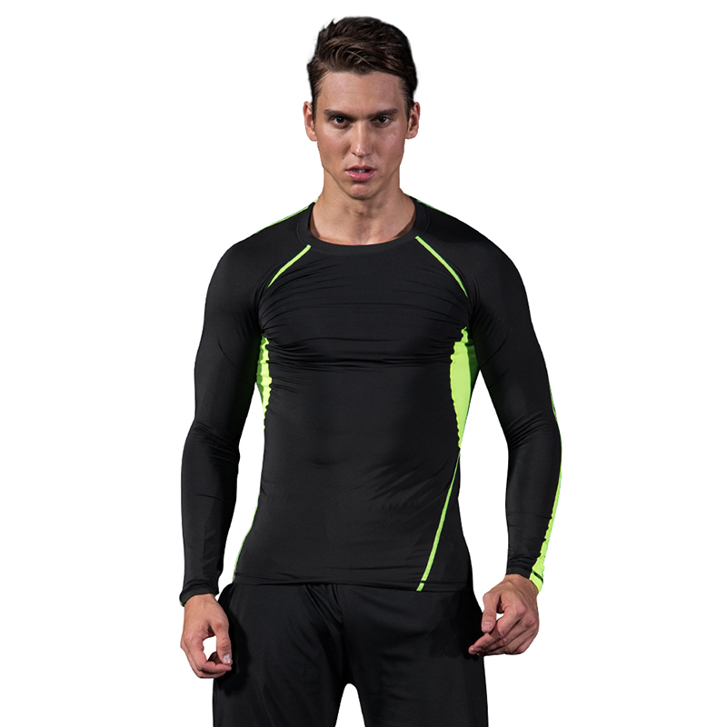 Men training Sports Suits Set Quick Dry Compression Men Basketball Tights Clothes Gym Fitness Jogging Sportswear