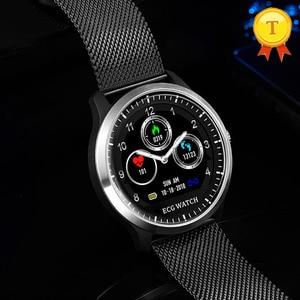 Image 3 - Neue Smart Uhr EKG + PPG Herz rate Blutdruck Überwachung IP67 waterpoof Schrittzähler Sport Fitness Armband Für Männer Frauen