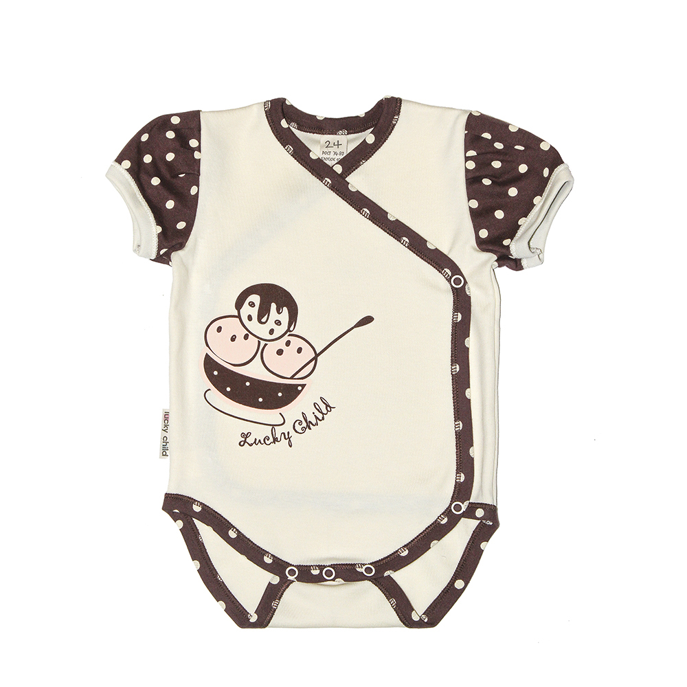 Bodysuits Lucky Child for girls 23-51 Summer Cafe Newborns Babies Baby Clothing Children clothes tank tops made in russia