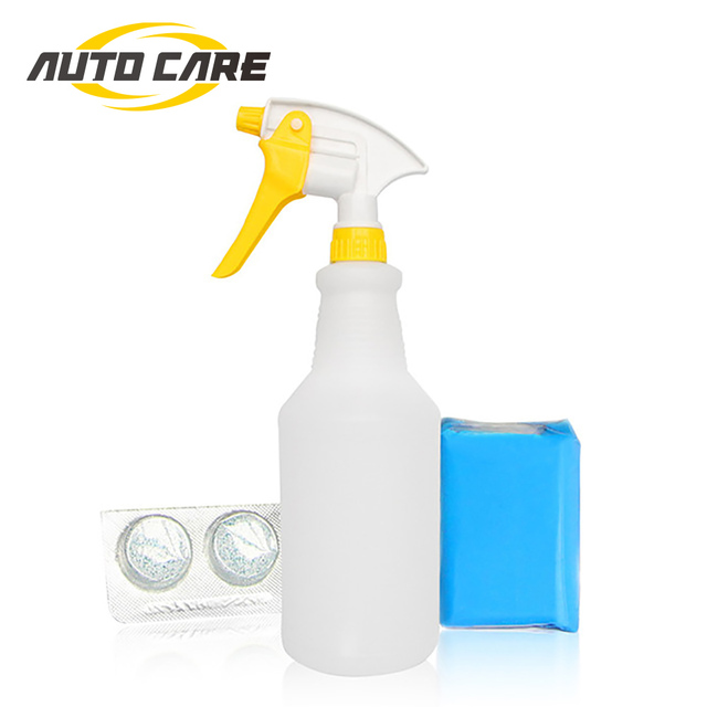 US $7 66 25% OFF|Car Detailing Kit 100g Clay Bar With Spray Bottle 2pcs  Magic Clay Bar Lubricants Clay Mate Car Paint Cleaning Tools Kit-in  Sponges,