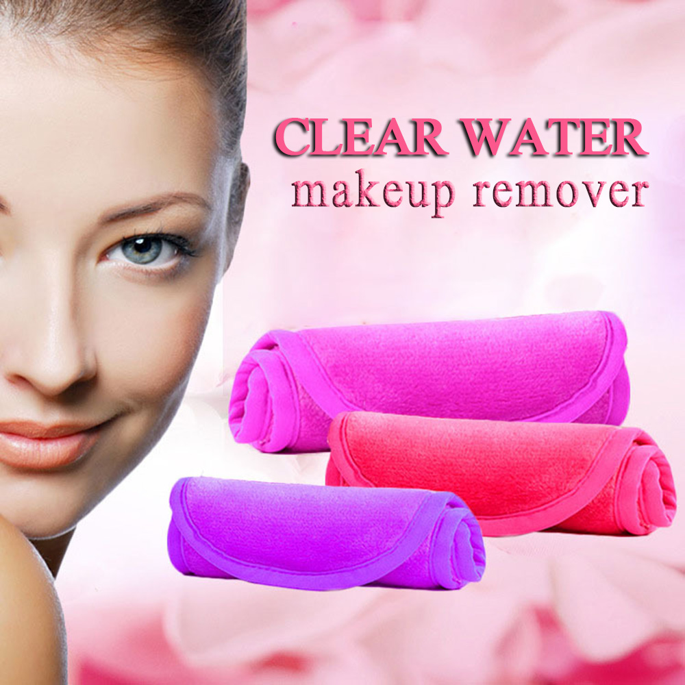 New 40*17cm Microfiber Makeup Remover Reusable Makeup Towel Remover Wipes No Need Cleansing Oil Skin Care Make Up Tool 5