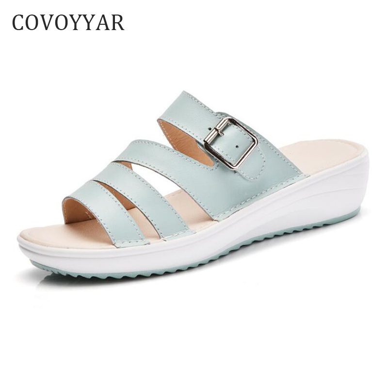 a75286817eda COVOYYAR-Buckle-Decor-Women-Sandals-2018-Fashion-Summer-Platform-Women -Slippers-Low-Wedges-Women-Shoes-Slides.jpg