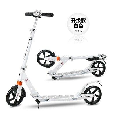 Scooter adulte de scooter de coup de pied amélioré de 2016 double amortissement scooter de roue de 8 pouces