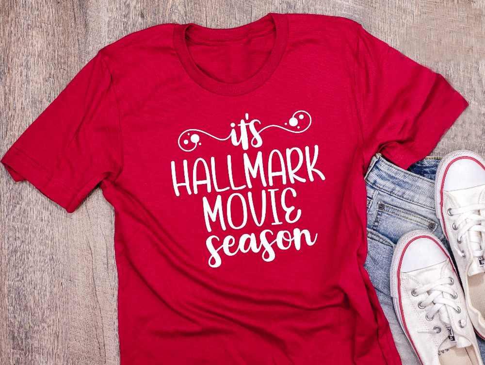 1625e58f8e It's Hallmark Movie Season Shirt Christmas Shirt holiday gift funny slogan  graphic tumblr camisetas aesthetic t-shirt tees top