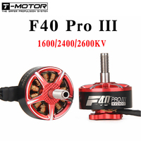 4pcs/lot T motor F40 PRO III 1600kv 2400kv 2600kv Brushless Electrical Motor For FPV Racing Drone FPV Freestyle Frame