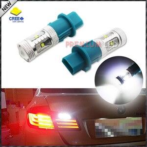 2pcs High Power white 30W PH16W LED Bulbs For Audi BMW VOLVO, etc Front Turn Signal Lights, Reverse Lights,DRL(China)