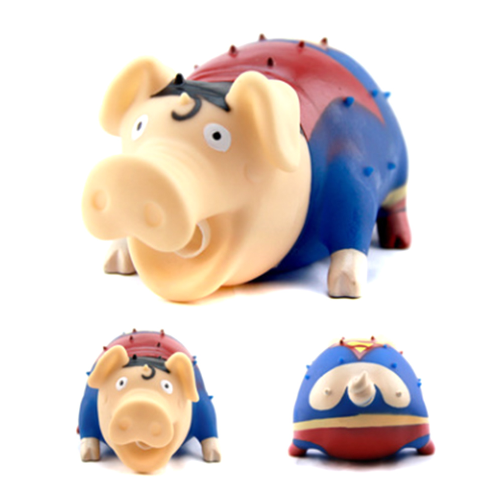 April Fools Day Trick Toys Screaming Pig Funny Squeeze Sound Toys Shrilling Decompression Tool gadgets Squeeze Squawking