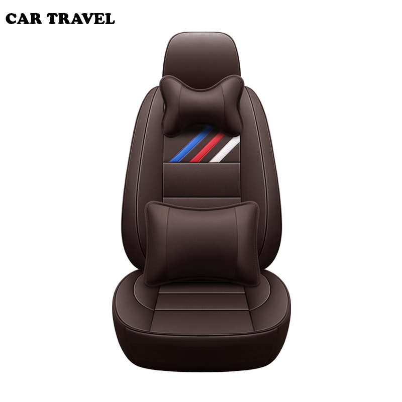 Genuine Leather auto custom car seat cover For kia ceed 2017 cerato k3 k5 sportage 3 rio 4 soul sorento spectra accessories