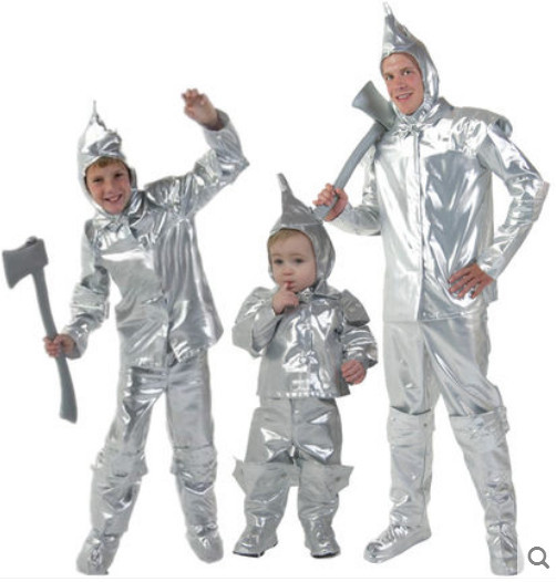 silver tin soldier costumes halloween costumes for children the wizard of oz cosplay clothing carnival costumes