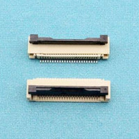 100pcs/lot 1.0mm 24P Down Clamshell Connector FFC FPC 1.0mm Pitch 24Pin/way Flexible Flat Cable Connector