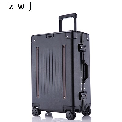 20/24/26/29 inch size high quality, fashion PC  aluminum frame Rolling Luggage Spinner brand Travel Suitcase20/24/26/29 inch size high quality, fashion PC  aluminum frame Rolling Luggage Spinner brand Travel Suitcase
