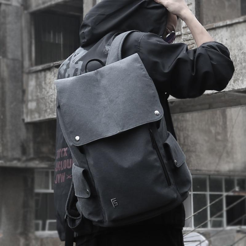 FYUZE Anti voleur sac à dos 15.6 pouces sac à dos pour ordinateur portable pour hommes école sac à dos sac pour adolescents garçons mâle voyage