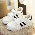 2017 de alta calidad zapatos para niños shell cabeza niños ocasional zapatos de bebé zapatos de las muchachas SIZE20-39