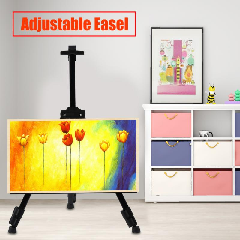 Painting Easel Portable Metal Sketch Easel Artist Painters Adjustable Tripod Stand Mount Easel with Carry Bag kitmmm559unv55400 value kit post it easel pads self stick easel pads mmm559 and universal economy woodcase pencil unv55400