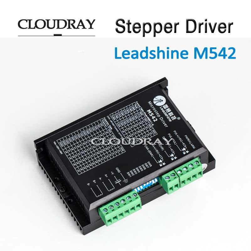 Cloudray Stepper Motor DC Leadshine 2 Phase Stepper Motors Of Laser Cutters Laser Markers Nema 23 M542