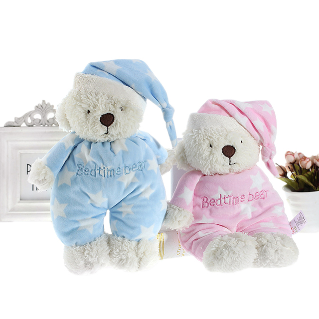 soft teddy bear plush dolls stuffed animals lovely star bedtime