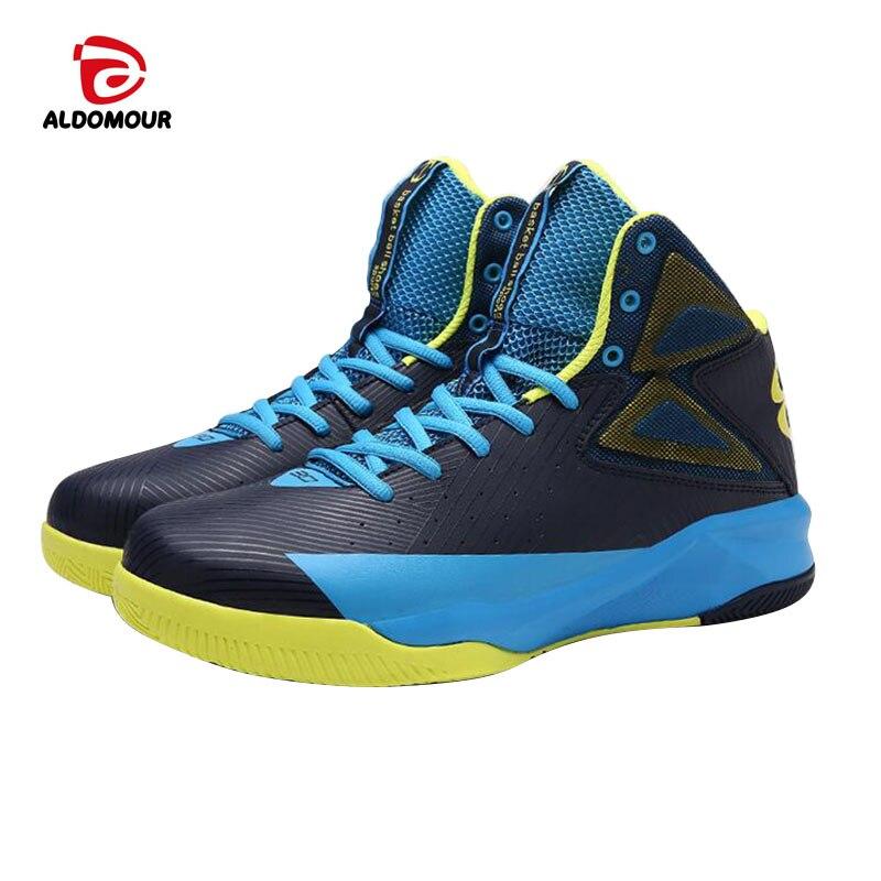ALDOMOUR Cheap Basketball font b Shoes b font font b Men b font Bounse Technology Tuff