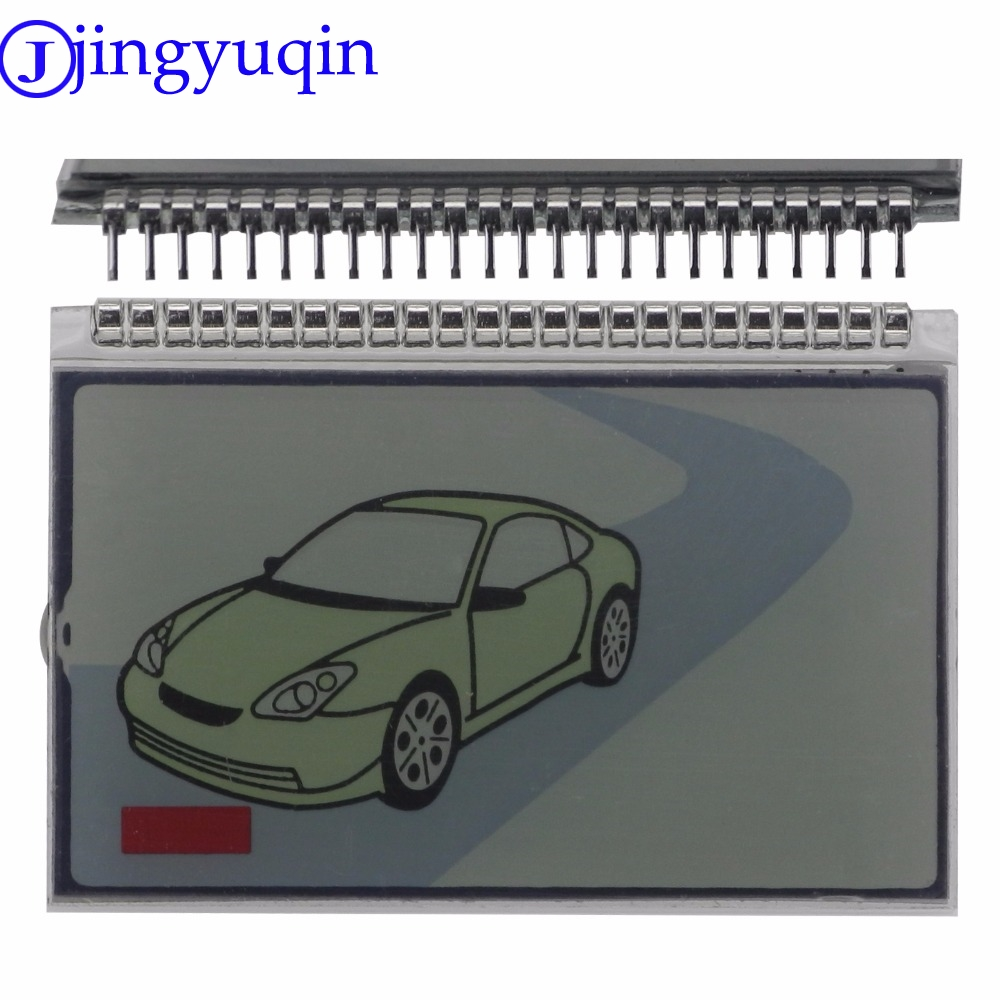Jingyuqin Keychain Lcd-Display-Screen Remote-Control-Key Tamarack Scher Khan Magicar-5 title=