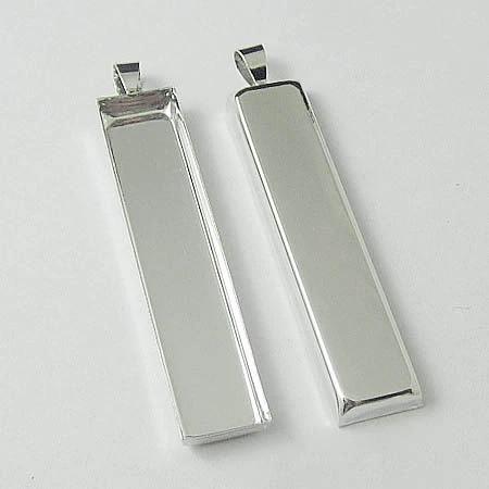BULK 5-10 pc unfinished rectangle pendantbrooch base 30x40 mm,rectangle mandala setting,rectangle base bezel cup,rectangle picture frame