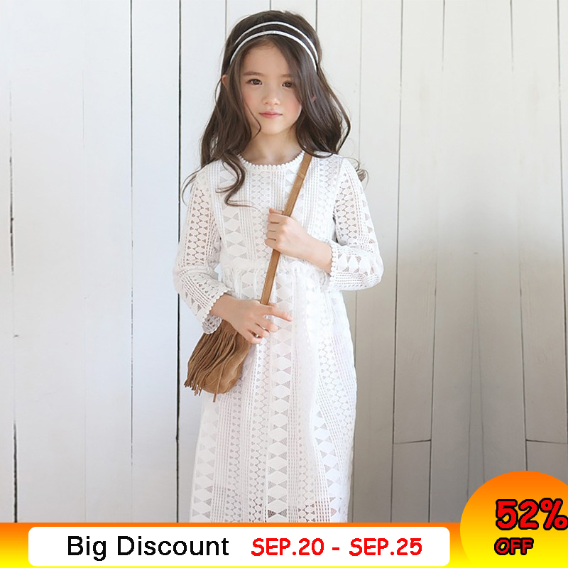 Girls Lace Dress Long Sleeve Fall Winter Little Girl Dress 4 5 6 7 8 9 10 11 12 years Kids Princess Dress Teenage Girls Clothing brand new original oem projector lamp with housing dt01435 bulb for hitachi hcp 240x hcp 280x hcp 340x hcp 380x