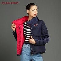 Chu Sau Beauty Fashion Clothing Women Cultivate Morality Warm Plus Size Winter Jacket And Coats Cotton