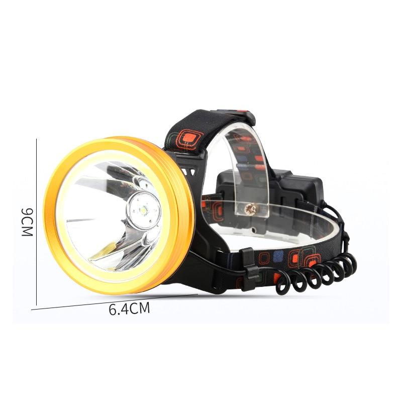 Litwod Z20 136 & 9010 светодиодный налобный фонарь XM-L T6 & COB алюминиевая чашка 18650 батарея отражатель Головной фонарь фонарик мощный