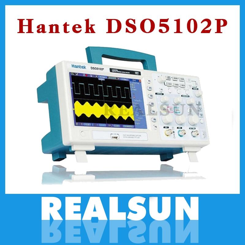 Hantek DSO5102P Digital storage oscilloscope usb analyer 100MHz 1GSa s 40K cheaper than DSO5102B AC110V 220V