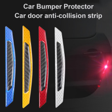4pcs/lot Car Door Anti Collision safety Anti-collision reflective warning sign Stickers Accessory styling
