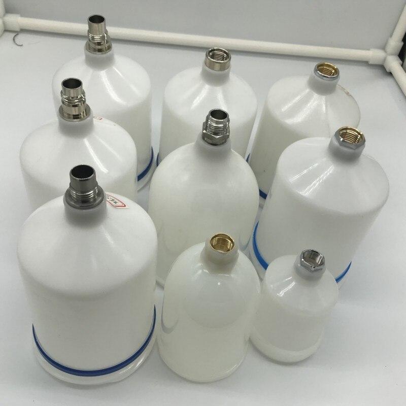 Weta Plastic Thicken Paint Pot 125/250/600ml Upper Spray Paint Gun Cup Pot Pneumatic Tool Accessories
