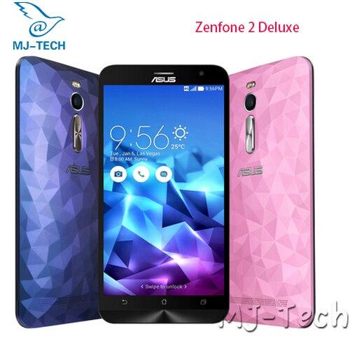 Цена за Asus ZenFone 2 Deluxe ZE551ML 5.5 дюймов 4ГБ 32ГБ Intel Z3560 Quad Core 64bit 4G FDD android 5.1