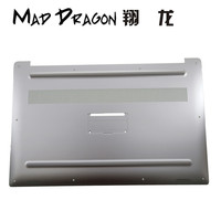 MAD DRAGON Brand Laptop NEW silver white Bottom Base Bottom Cover for Dell XPS 15 9570 / Precision 5530 M5530 DAM00 0GHG50 GHG50