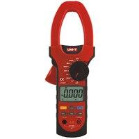 UNI T UT207 1000A Цифровые токовые клещи переменного тока постоянного тока вольт переменного тока мультиметр Гц Тесты er автоматически настраивающ