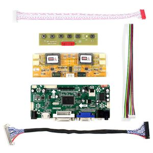 """Image 2 - H dvi dvi vga placa de motorista de áudio lcd para 20.1 """"22"""" M201EW02 V1 M220EW01 V0 1680x1050 tela lcd"""