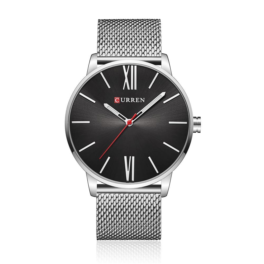 2018 CURREN Brand Watch Ерлер сәнді сәнді бизнес - Ерлердің сағаттары - фото 3