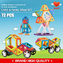 Wholesale Brand 56pcs +16pcs + 96pcs Ferries Wheels Set high quality Educational Magnetic Models & Building Toy for Kid