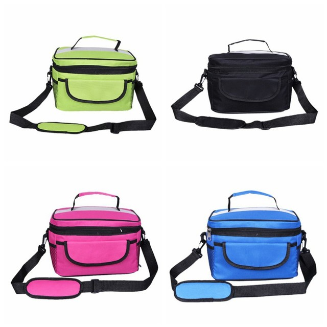 8L Home Food Beverage Storage Organization Oxford Sports Leisure Picnic Outdoor Lunch Dinner Bag Cooler Ice Camping Pack