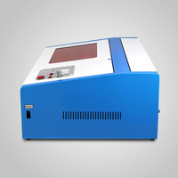 Free shipping to USA Europe 40W CO2 Laser Engraving Cutting Machine HIGH PRECISE and HIGH SPEED Third Generation with USB PORT