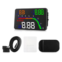 Zeepin T100 Electronic Surfboard Car Smart Digital OBD HUD Head Up Display with Water Temperature Voltage Over Speed Alarm