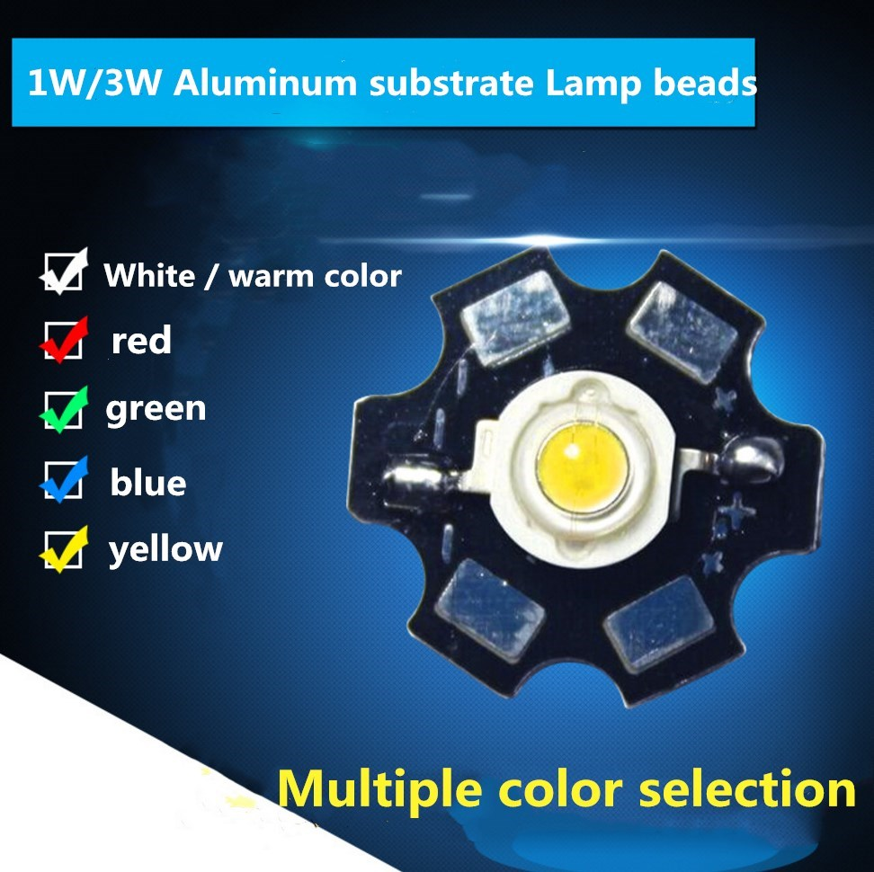 Lights & Lighting Light Beads 50pcs 3w Epileds Chip Deep Red 620nm Led Bead Diodes Plant Grow Light Lamp With 20mm Base