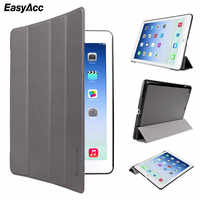 Easyacc Tablets funda para ipad air de 9,7 pulgadas de cuero PU Ultra delgado a prueba de golpes para ipad 5 funda despertador Sleep Flip para ipad air 1