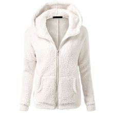 Autumn Winter Women New Fleece Jackets Casual Hooded Outwear Jumpers 4 Colors Available Soft and Warm Coat Outerwear