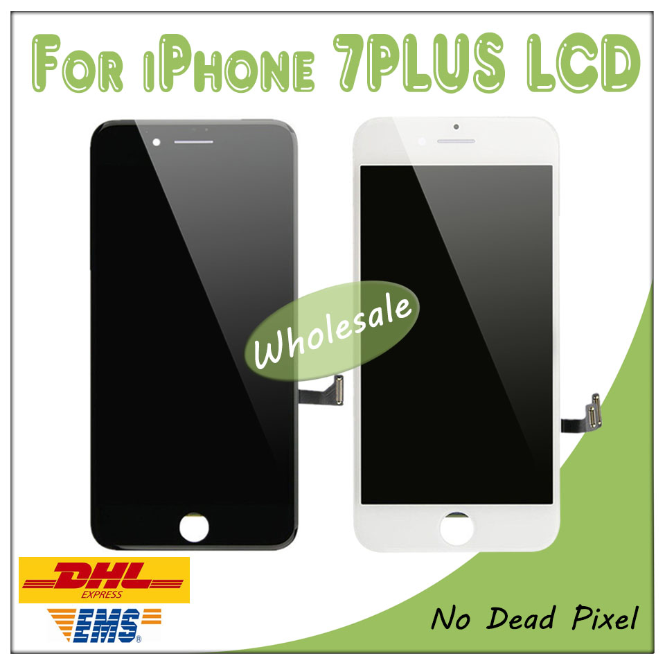 Touch-Screen Display Lcd iPhone Digitizer for 7-Plus 7P Black White Quality AAA 20pcs/Lot