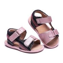 Tipsieter Sandaler Børnetøj Fodtøj til børn Sandaler Piger og drenge Sandaler Puste lejligheder Sko Sommer Komfortabelt læder