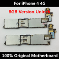 Low Price 100% Original Official Motherboard Unlocked For iPhone 4 4G Good Working Mainboard 8GB With Full Chips IOS Logic Board